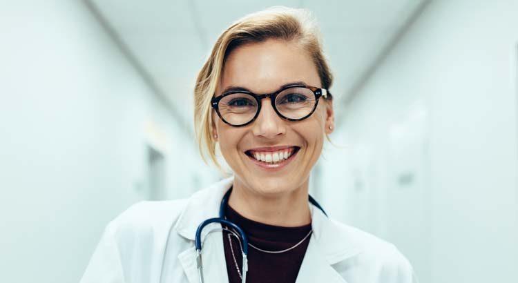 Ärztin im Krankenhaus
